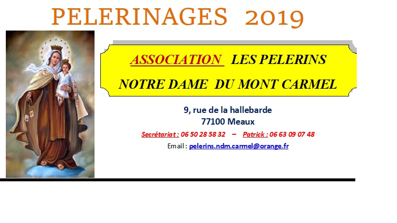 Pèlerinage 2019